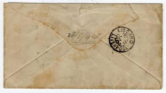 NIGER COAST - 1894 2 1/2d OLD CALABAR cover to UK.