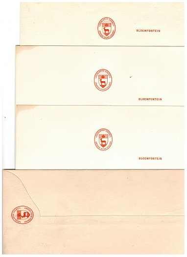 ORANGE RIVER COLONY - 1910 LEGISLATIVE COUNCIL official unused envelope and paper.