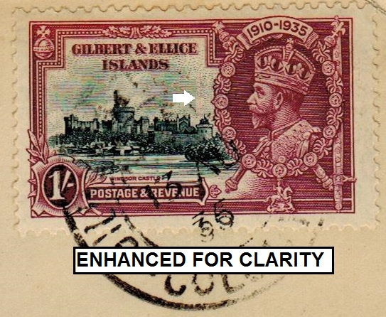 GILBERT AND ELLICE ISLANDS - 1936 registered cover to USA with