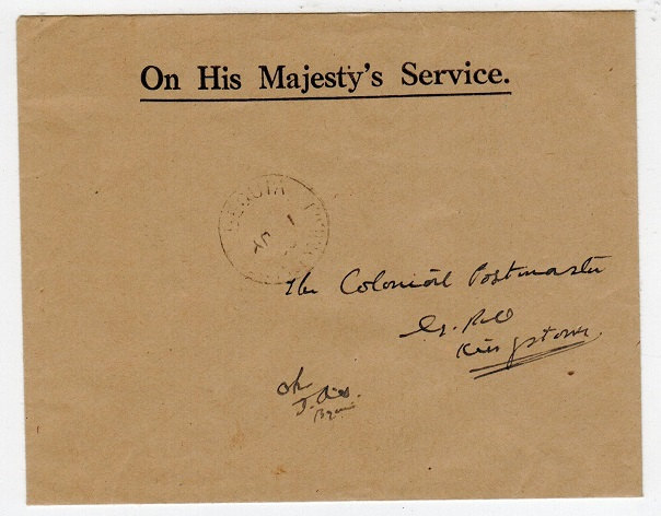 ST.VINCENT - 1950 locally addressed envelope used at BEQUIA.