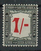 SOUTH AFRICA - 1915 1/-