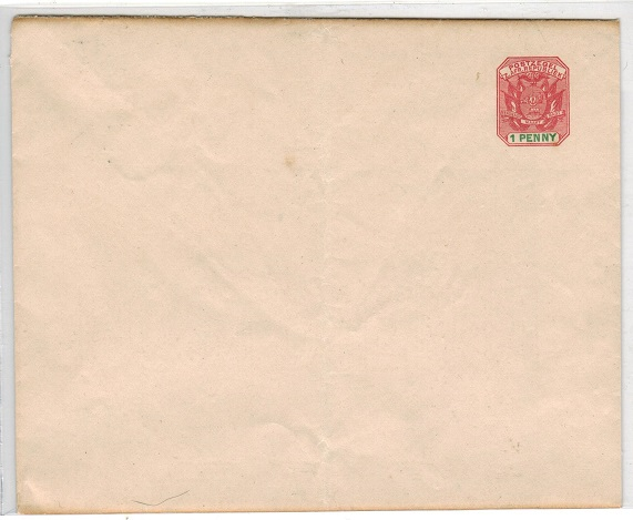 TRANSVAAL - 1911 1d unused letter sheet. H&G 1.