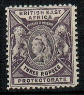 BRITISH EAST AFRICA - 1896 3r deep violet mint.  SG 77.