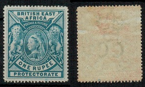 BRITISH EAST AFRICA - 1897 1r grey blue mint.  SG 92.