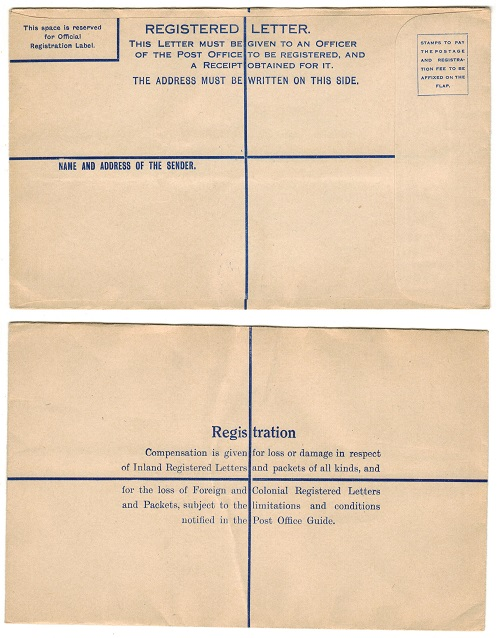 COLONIAL PROOFS AND MISCELLANEOUS - 1940-50 (circa) FORMULA (size H) RPSE unused.