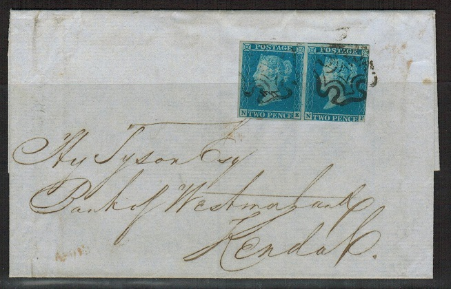 GREAT BRITAIN - 1843 2d blue