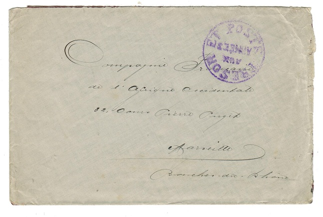CAMEROONS (French) - 1915 (circa) Campaign cover.
