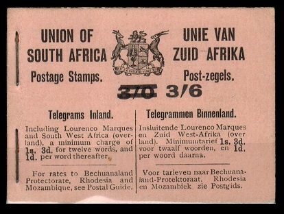 SOUTH AFRICA - 1922 3/6d