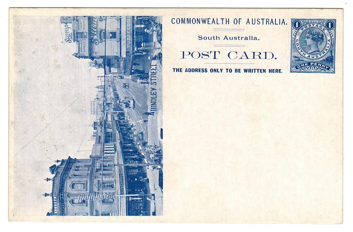 AUSTRALIA (South Australia) - 1908 1d PSC depicting