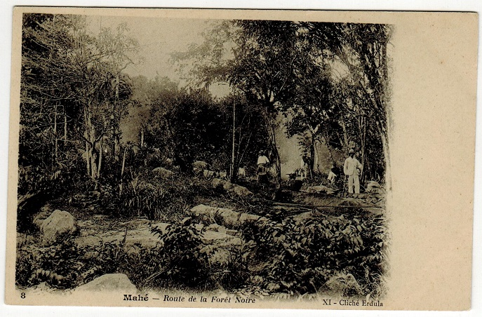 SEYCHELLES - 1902 (circa) unused postcard depicting