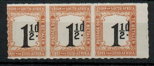 SOUTH AFRICA - 1922 1 1/2d