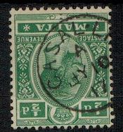 MALTA - 1914 1/2d green cancelled CASAL LIA.  SG 71.