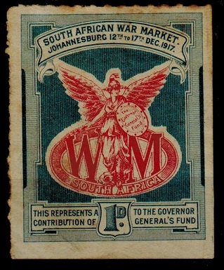 SOUTH AFRICA - 1917 1d