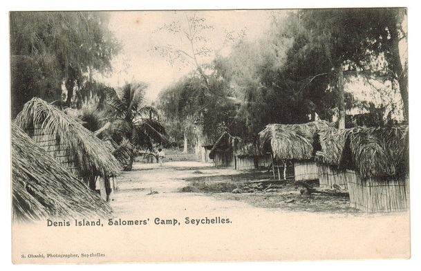 SEYCHELLES - 1905 (circa) picture postcard unused.