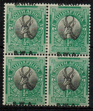 SOUTH WEST AFRICA - 1927 1/2d