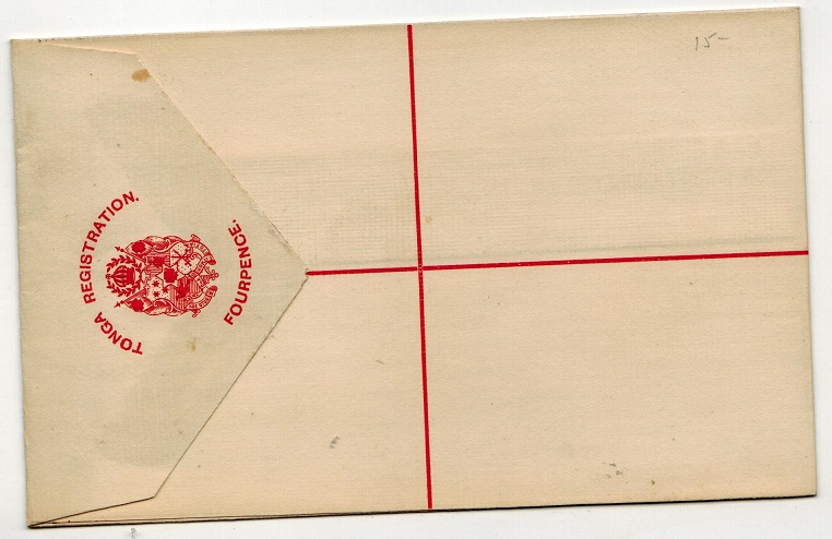 TONGA - 1892 4d red RPSE unused.  H&G 4.