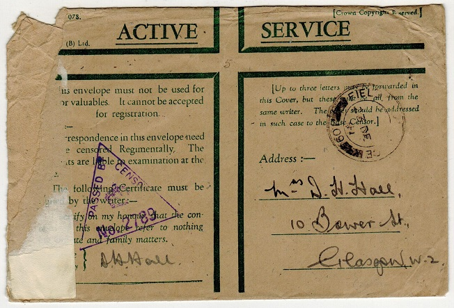 GAMBIA - 1941 green cross