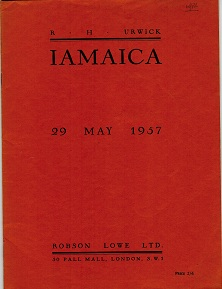 JAMAICA - Robson Lowe auction catalogue