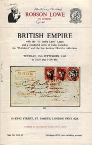 British commonwealth postal history literature - Steve Drewett