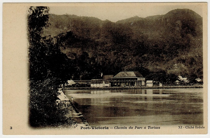 SEYCHELLES - 1902 (circa) unused postcard.